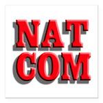 NatCom Square Car Magnet 3
