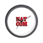 NatCom Wall Clock
