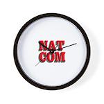 NatCom Wall Clock
