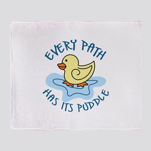 EVERY PATH Throw Blanket