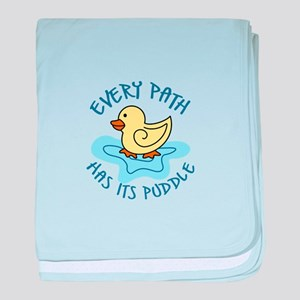 EVERY PATH baby blanket