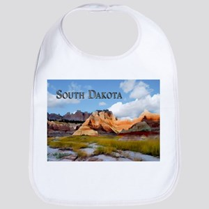 Mountains Sky in the Badlands National Park S Bib