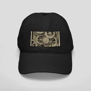 Steampunk Cogwheels Baseball Hat