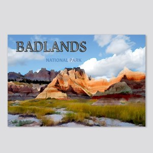 Mountains Sky in the Bad Postcards (Package of 8)