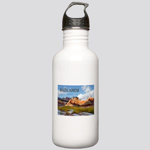 Mountains Sky in the Stainless Water Bottle 1.0L
