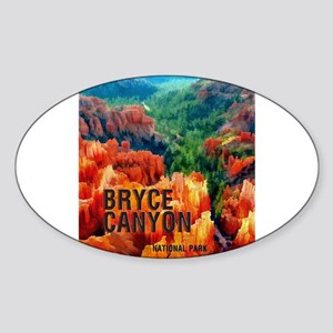 Hoodoos in Bryce Canyon National Park Sticker