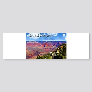 Grand Canyon NAtional Park Poster Bumper Sticker