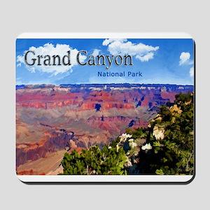 Grand Canyon NAtional Park Poster Mousepad