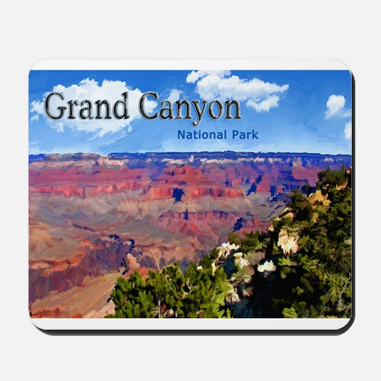 Grand Canyon NAtional Park Poster Mousepad