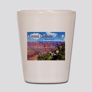 Grand Canyon NAtional Park Poster Shot Glass