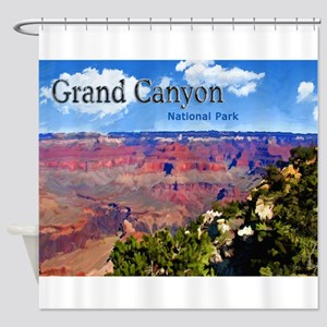 Grand Canyon NAtional Park Poster Shower Curtain