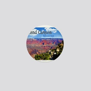 Grand Canyon NAtional Park Poster Mini Button