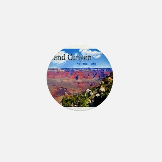 Grand Canyon NAtional Park Poster Mini Button