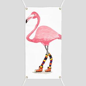 Styling Flamingo Banner