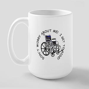 Wheelchair Large Mug