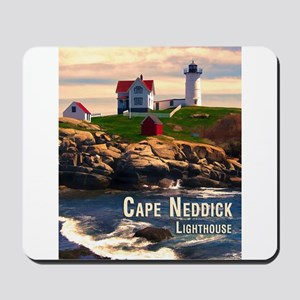 Cape Neddick Lighthouse at Sunset Mousepad