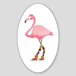 Styling Flamingo Sticker