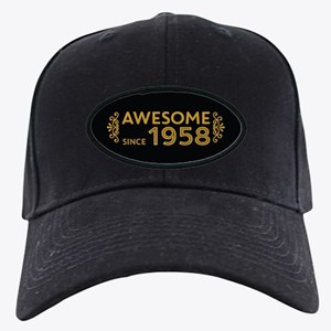 Awesome Since 1958 Black Cap