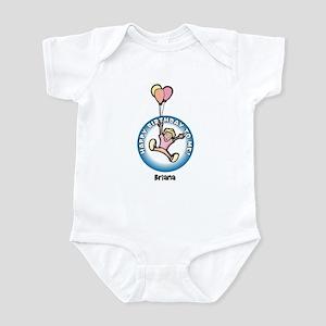 Briana: Happy B-day to me Infant Bodysuit