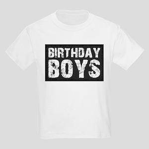 Birthday Boys Kids Light T-Shirt