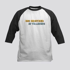 Big Brother in Training Kids Baseball Jersey