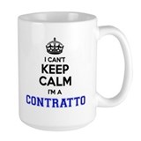 Contratto Large Mugs (15 oz)