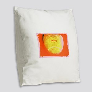Henry Custom Personalized Tenn Burlap Throw Pillow