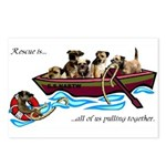 Border Terrier Rescue Postcards (Package of 8)