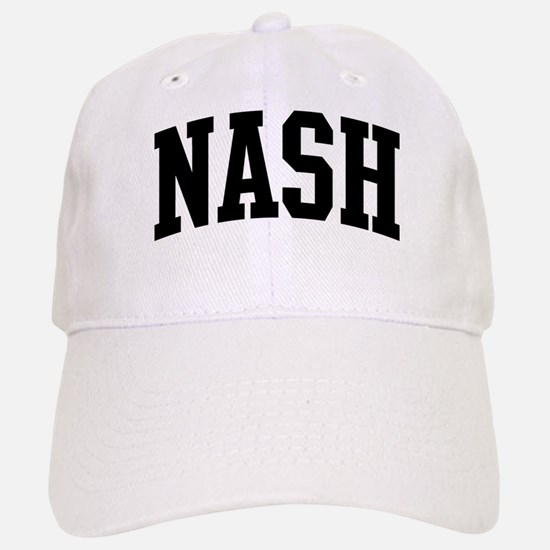 NASH (curve-black) Baseball Baseball Cap