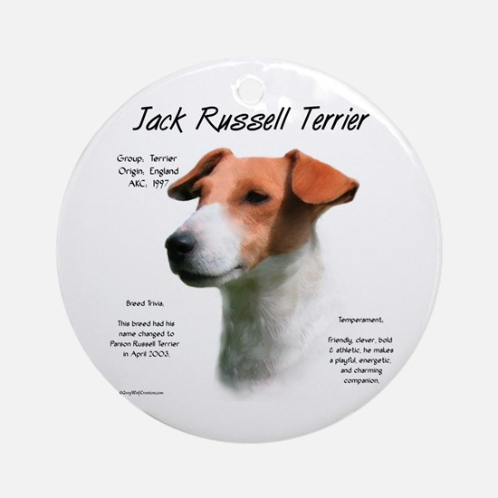 Jack Russell Round Ornament