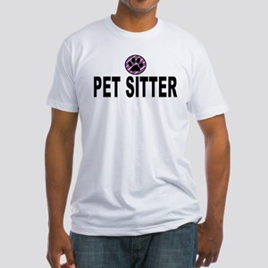 Pet Sitter Purple Circle Paw T-Shirt