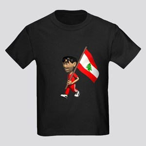 Lebanon Boy Kids Dark T-Shirt