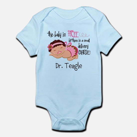 Personalized Funny Gynecologists Infant Bodysuit