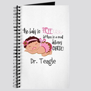 Personalized Funny Gynecologists Journal