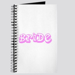 Pink Im the Bride Wedding for Sarah Journal
