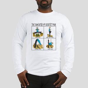 THE DANGERS OF DESERT YOGA Long Sleeve T-Shirt
