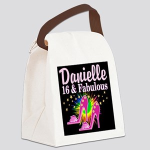 GORGEOUS 16TH Canvas Lunch Bag