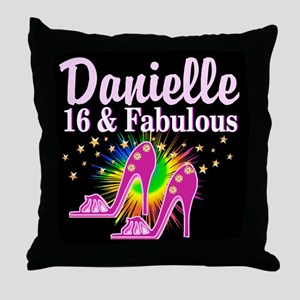 GORGEOUS 16TH Throw Pillow