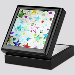 Stars & Circles Fab Pattern Keepsake Box