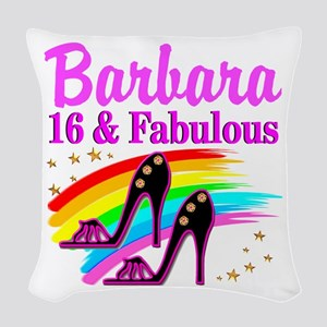 AWESOME 16TH Woven Throw Pillow