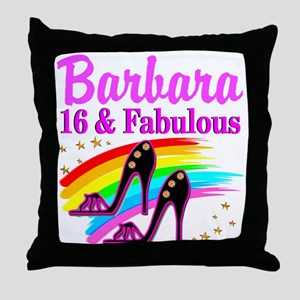 AWESOME 16TH Throw Pillow