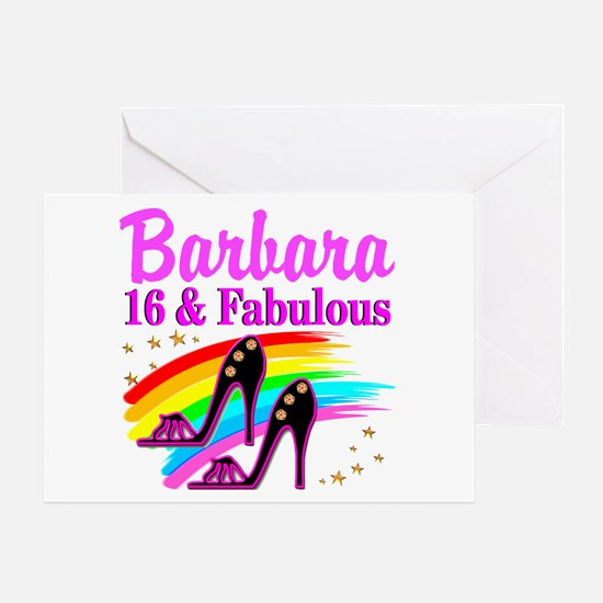 AWESOME 16TH Greeting Card
