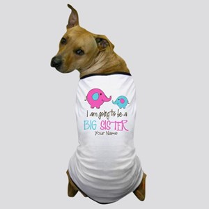 I am Going to be a Big Sister | Elepha Dog T-Shirt