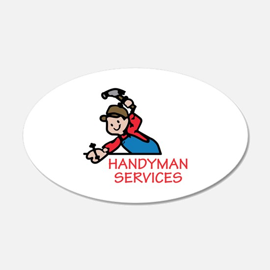 HANDYMAN SERVICES Wall Decal