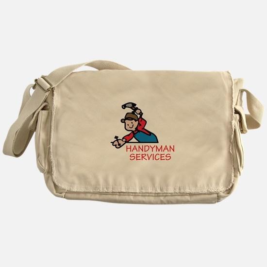 HANDYMAN SERVICES Messenger Bag