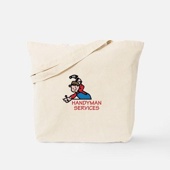 HANDYMAN SERVICES Tote Bag
