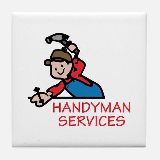 HANDYMAN SERVICES Tile Coaster