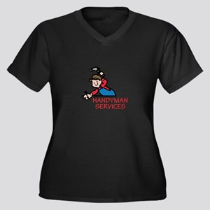 HANDYMAN SERVICES Plus Size T-Shirt