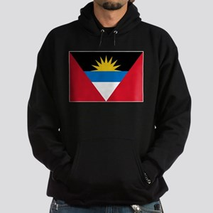 Antigua Barbuda Flag Hoodie (dark)