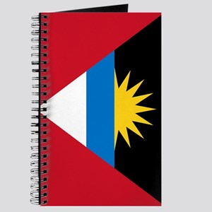 Antigua Barbuda Flag Journal